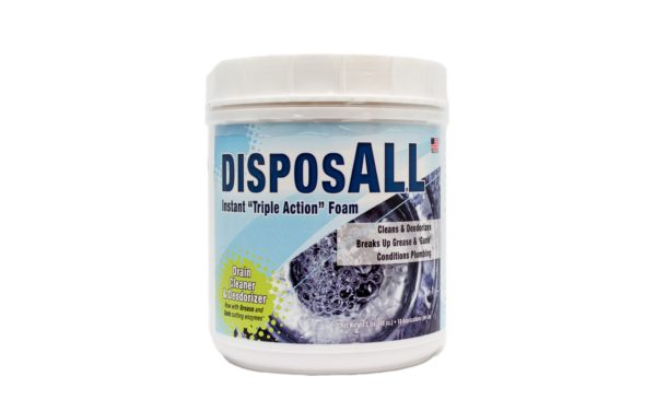 Garbage DisposALL cleaner, Drain Cleaner, Clog Fighting Enzymes