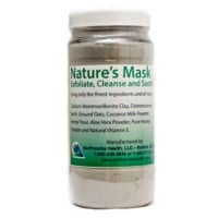 Natures Face Mask, Diatomaceous Earth, Calcium Bentonite