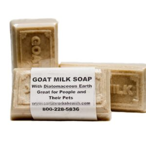 Goats Milk Soap W/ Food Grade Diatomaceous Earth